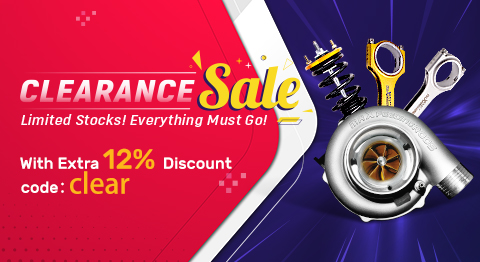 Clearance Sale! Use code 'CLEAR' to enjoy extra 12% OFF discount, Shop Now!