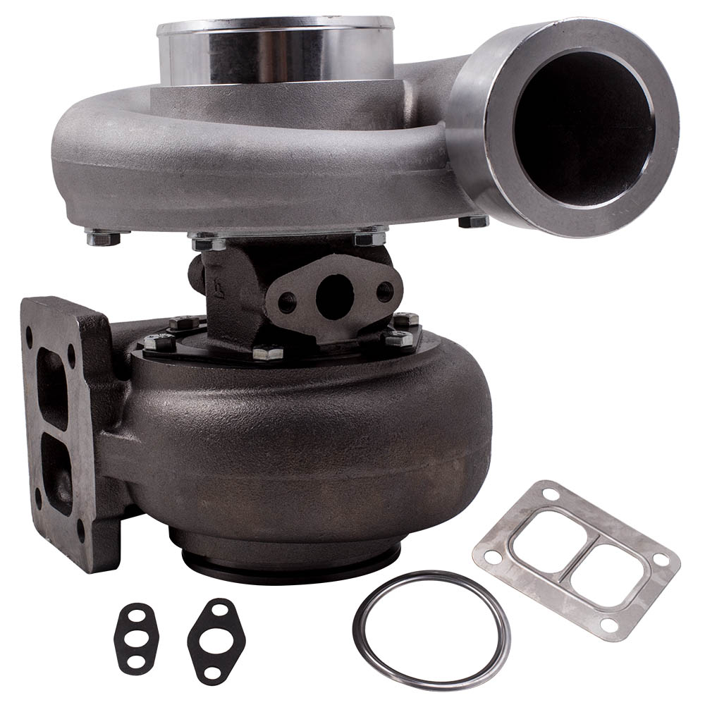GT45 Turbo T4 V-Band 1.05 A/R 98mm Huge 600+HPs Boost Upgrade Racing Turbocharger